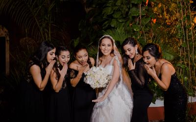 """¿Cómo elegir a tus damas de honor o """"bridesmaids""""?"""